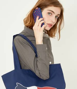 MAISON KITSUNÉ PARIS WOMEN - メゾン キツネ ウィメン | IPHONE CASE 3D ALL-OVER MAISON KITSUNE