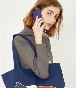 MAISON KITSUNÉ PARIS WOMEN - メゾン キツネ ウィメン | 【先行予約】IPHONE CASE 3D ALL-OVER MAISON KITSUNE