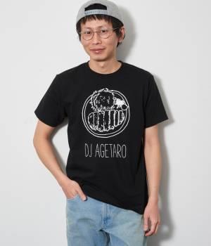 JUN SELECT - ジュンセレクト | とんかつDJアゲ太郎×JUNRed WEB別注ブラックライトDJアゲ太郎Tシャツ