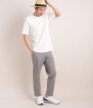 JUNRed - ジュンレッド | ロングワッフル半袖Tシャツ