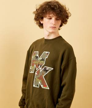 MAISON KITSUNÉ PARIS MEN - メゾン キツネ メン | SWEAT SHIRT MK CAMO FOX