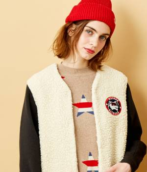 MAISON KITSUNÉ PARIS WOMEN - メゾン キツネ ウィメン | TEDDY BASEBALL