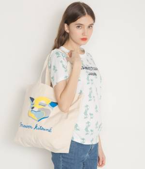 MAISON KITSUNÉ PARIS WOMEN - メゾン キツネ ウィメン | TEE SHIRT ALL-OVER JARDIN