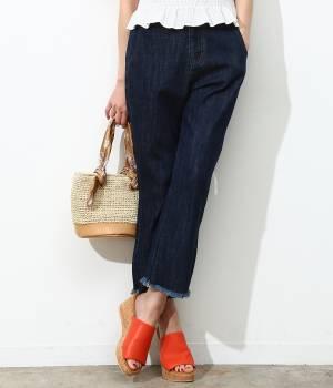 ViS - ビス | デニム裾フレアーパンツ