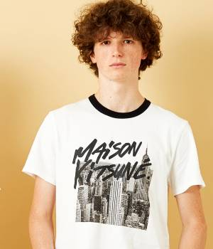 MAISON KITSUNÉ PARIS MEN - メゾン キツネ メン | TEE-SHIRT SKYLINE