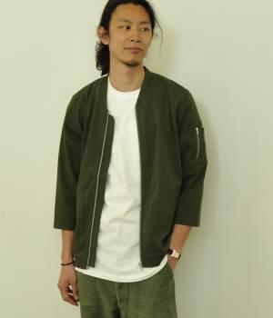 JUNRed - ジュンレッド | 【今だけ!WEB店舗限定59%OFF】カット7分袖MA-1