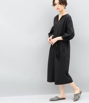 ADAM ET ROPÉ FEMME - アダム エ ロペ ファム | タイプライターシャツドレス