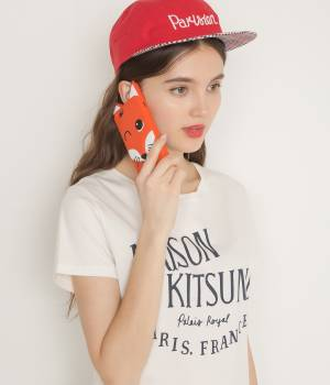 MAISON KITSUNÉ PARIS WOMEN - メゾン キツネ ウィメン | 【2017SS先行予約】IPHONE CASE 3D FOX HEAD