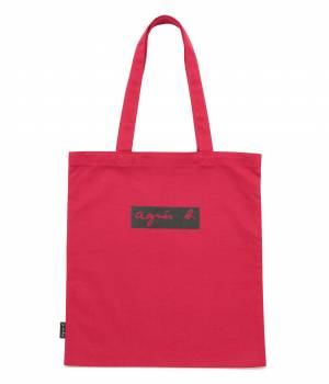 ADAM ET ROPÉ FEMME - アダム エ ロペ ファム | 【予約】【agnes b. pour ADAM ET ROPE'】TOTE BAG WITH BOX LOGO