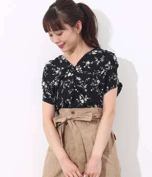 ViS - ビス | ★ヒルナンデス!放映★フラワープリントスキッパーシャツ