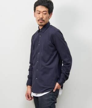 LE JUN MEN - ル ジュン メン   ワッフルスナップシャツ