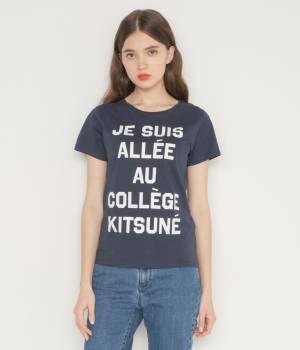 MAISON KITSUNÉ PARIS WOMEN - メゾン キツネ ウィメン | PERM TEE SHIRT JE SUIS ALLEE