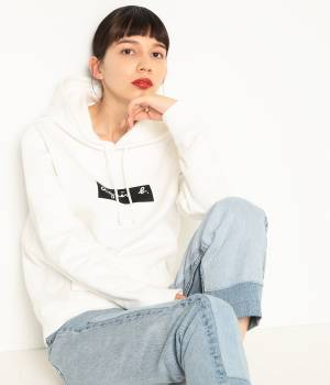 ADAM ET ROPÉ FEMME - アダム エ ロペ ファム | 【agnes b. pour ADAM ET ROPE'】SWEAT PARKA (BOX LOGO)