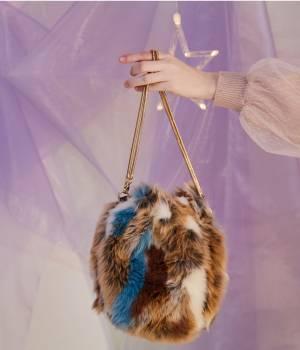 ViS - ビス | エコファー巾着バッグ