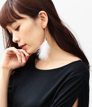 ViS - ビス | 【sweet5月号掲載】フェザーカラーピアス