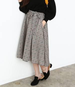 ViS - ビス | 【sweet×ViSコラボ】ベルト付きフィッシュテールスカート