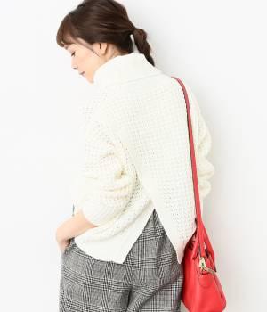 ViS - ビス   【sweet12月号掲載】ワッフル編みバックスリットプルオーバー