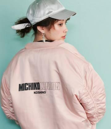 ViS - ビス | 【MICHIKO LONDON KOSHINO×ViS】リバーシブルMA-1