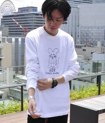 ジュンセレクト                                                                 ken kagami×JUNRed別注ロングスリーブTシャツ                                        JUN SELECT - ジュンセレクト | ken kagami×JUNRed別注ロングスリーブTシャツ