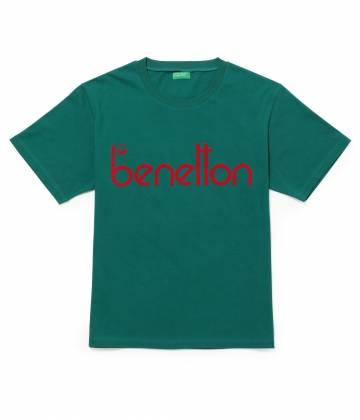 ADAM ET ROPÉ HOMME - アダム エ ロペ オム | 【UNITED COLORS OF BENETTON. FOR ADAM ET ROPE'】Flocky vintage logo t-shirt