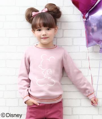ROPÉ PICNIC KIDS - ロペピクニック キッズ | ※【ROPE' PICNIC KIDS】ミッキー/ニットプルオーバー