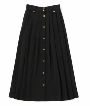 アダム エ ロペ ファム                                                                 【A PUPIL】Black mid length skirt                                        ADAM ET ROPÉ FEMME - アダム エ ロペ ファム | 【A PUPIL】Black mid length skirt
