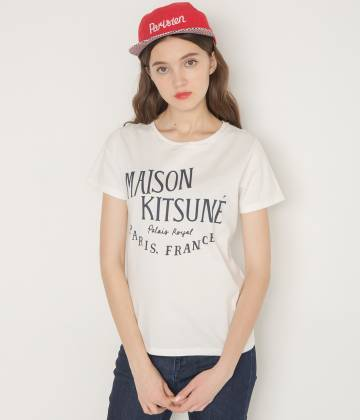 MAISON KITSUNÉ PARIS MEN - メゾン キツネ メン   PERM TEE SHIRT PALAIS ROYAL