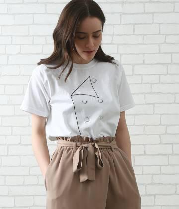 SALON adam et ropé WOMEN - サロン アダム エ ロペ ウィメン | 【今だけ!WEB店舗限定10%OFF】【LECHEF】prep t-shirt