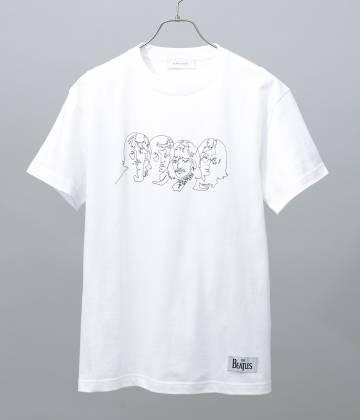 ADAM ET ROPÉ HOMME - アダム エ ロペ オム | 【先行予約】【BEATLES×ADAM ET ROPE'】フェイスプリントTシャツ