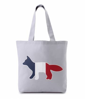 MAISON KITSUNÉ PARIS WOMEN - メゾン キツネ ウィメン | 【2017SS先行予約】TOTE BAG TRICOLOR FOX