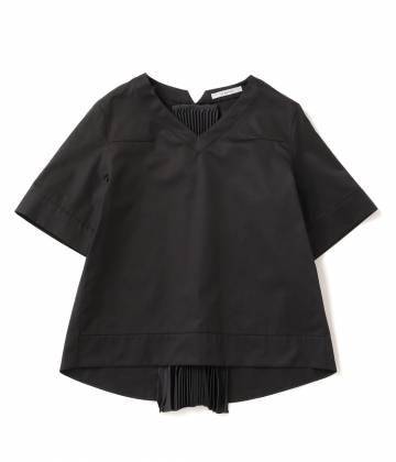 アダム エ ロペ ファム                                                                 【2016AW先行予約】【A PUPIL】Black blouses half sleeve                                        ADAM ET ROPÉ FEMME - アダム エ ロペ ファム | 【2016AW先行予約】【A PUPIL】Black blouses half sleeve