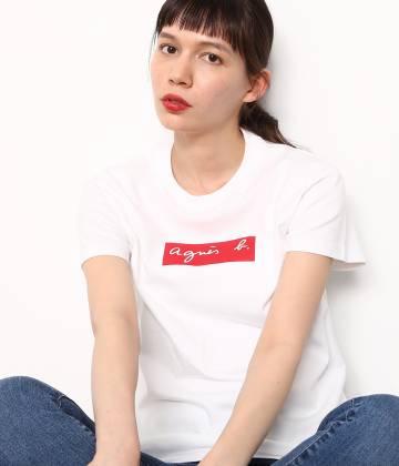 ADAM ET ROPÉ FEMME - アダム エ ロペ ファム | 【先行予約】【agnès b. pour ADAM ET ROPÉ 】BOX LOGO T-shirts