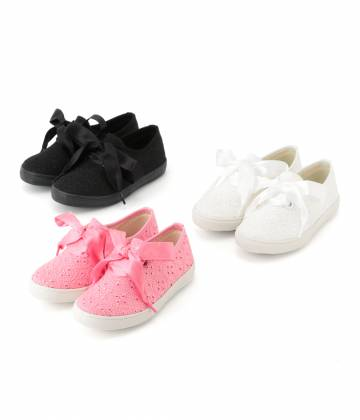 ROPÉ PICNIC KIDS - ロペピクニック キッズ | 【TIME SALE】【ROPE' PICNIC KIDS】レースシューズ