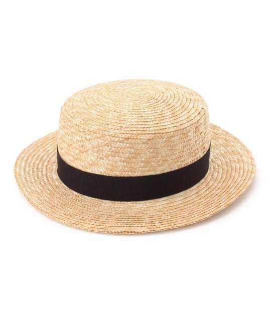 サロン アダム エ ロペ ウィメン | 【田中帽子×SALON】カンカン帽(太麦) - 1
