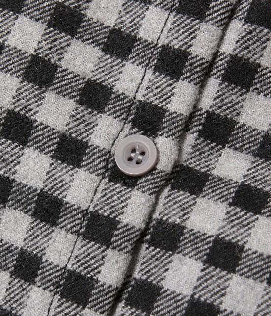 ロペピクニック キッズ | 【ROPE' PICNIC KIDS】チェック柄ガウンワンピース - 8