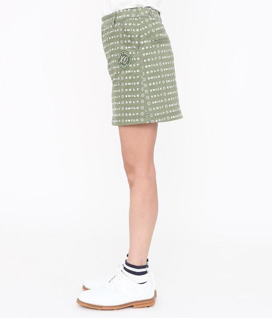 ジュン アンド ロペ | スマイルモチーフプリントスカート - 1