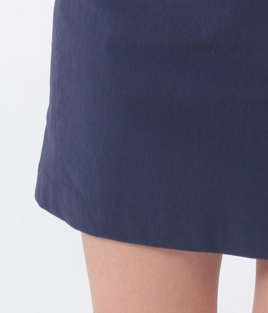 ジュン アンド ロペ | ナイロンストレッチ切替スカート - 7