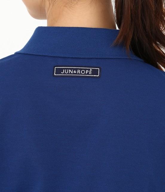 ジュン アンド ロペ | 【UVカット】【吸水速乾】【接触冷感】MILLION ICE Zipポロシャツ - 3