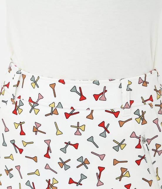 ジュン アンド ロペ | ティプリントパンツ一体型スカート - 3