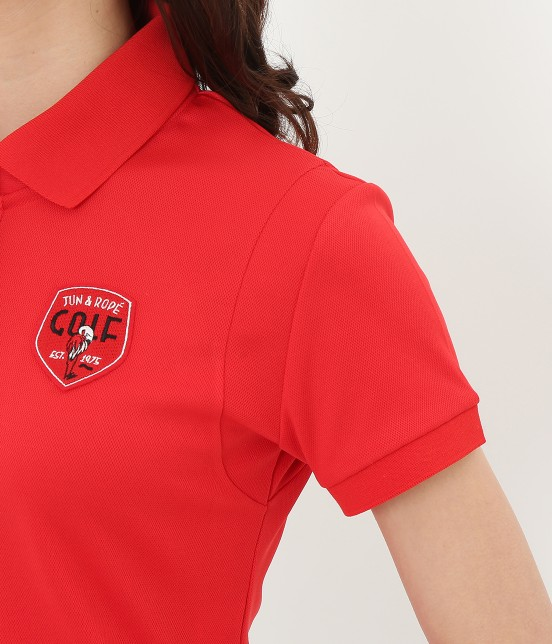 ジュン アンド ロペ | 【UV】【吸水速乾】COOL MAX切替ポロシャツ - 5