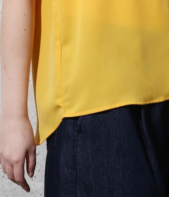 ロペピクニック | 【新色追加】ストレッチツイルタック衿ブラウス - 5