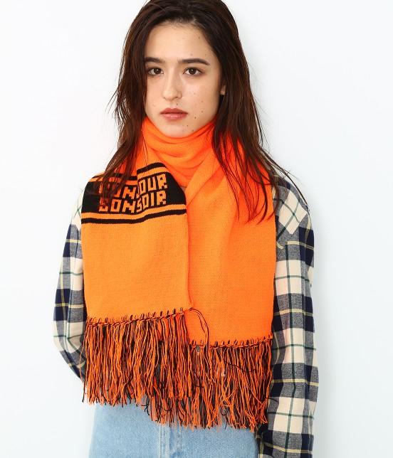 ボンジュールボンソワール | 【bonjour bonsoir】TEAM MUFFLER | オレンジ
