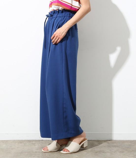 ロペピクニック | 【Japan Fabric】麻調ワイドパンツ - 1