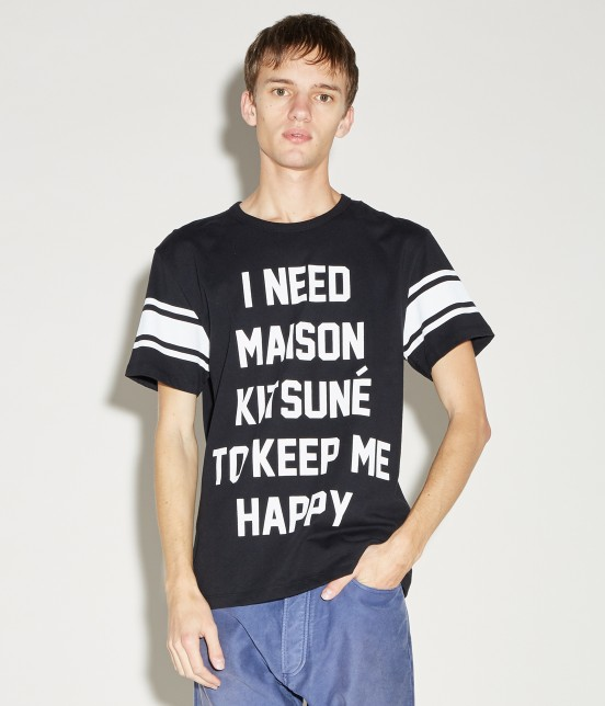 MAISON KITSUNÉ MEN | TEE SHIRT I NEED - 6