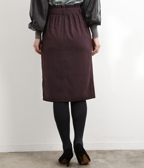 ロペピクニック   【新色追加】【HAPPY PRICE】ベロアタッチアイラインスカート - 2