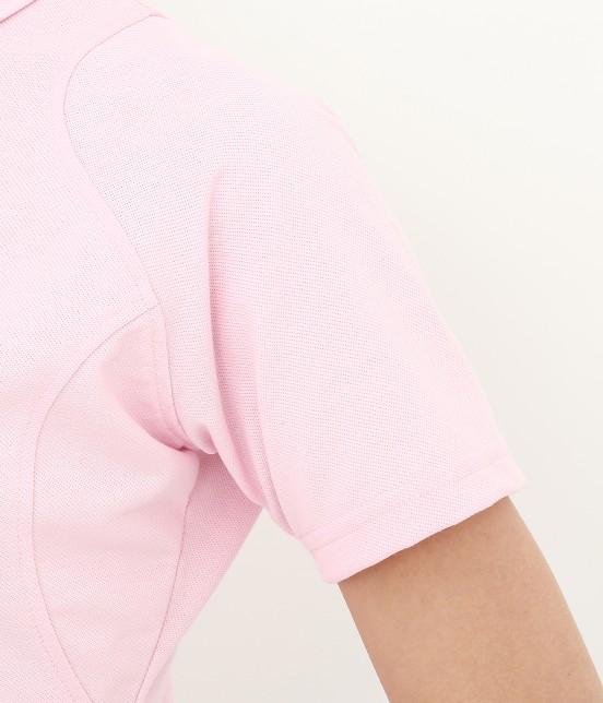 ジュン アンド ロペ | 【UV CUT】【吸水速乾】【接触冷感】ミリオンアイス切替半袖ポロシャツ - 9