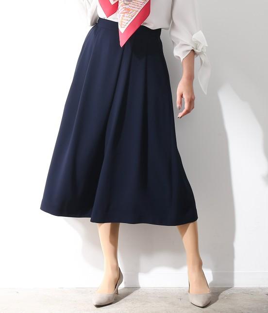 ロペ   【ロペ シスターズ コレクション】ジョーゼットスカーチョ   ネイビー