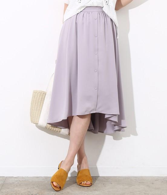 ビス | ラウンドヘムギャザースカート