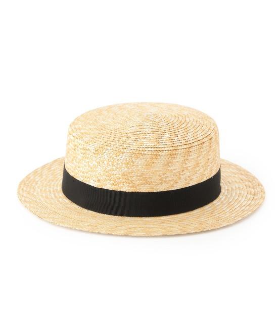 サロン アダム エ ロペ ウィメン | 【田中帽子×SALON】カンカン帽(太麦) - 6