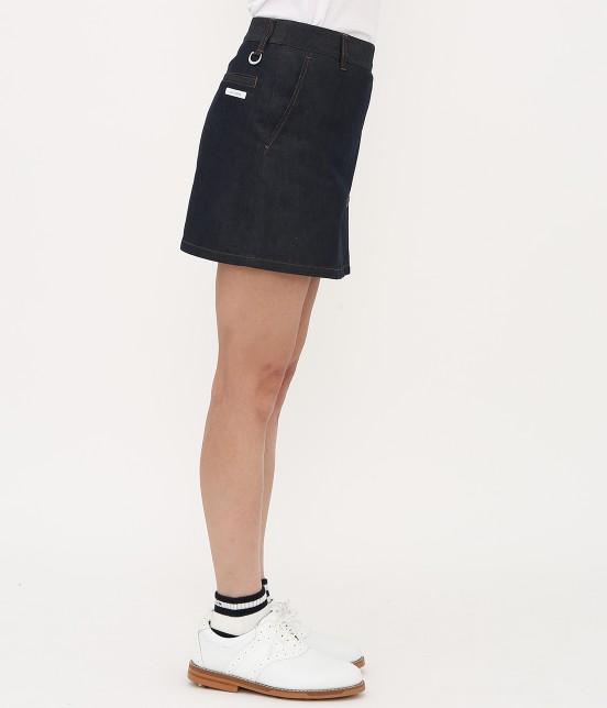 ジュン アンド ロペ | 【吸水速乾】COOL MAXデニムスカート - 2